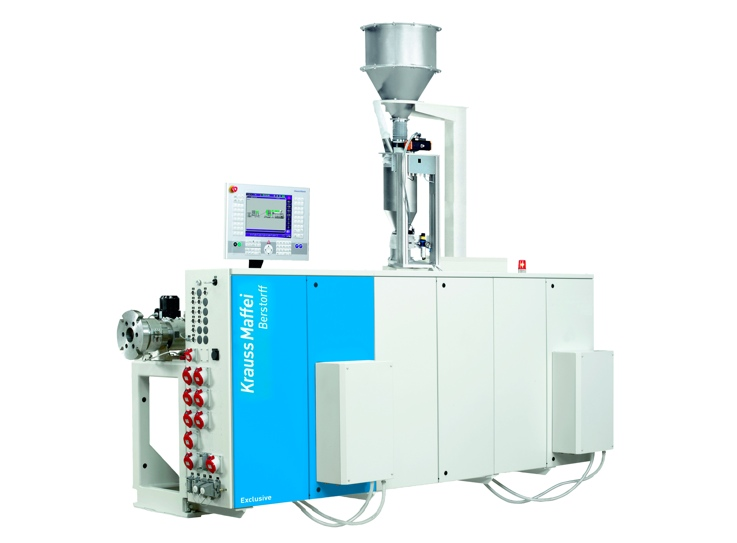 KraussMaffei Berstorff single-screw extruder KME 60-36 B/R (photo: Kraus Maffei)