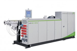 The new solEX GL series takes the solEX single-screw extruder series introduced at the K 2010 a step further. (photo: battenfeld-cincinnati)