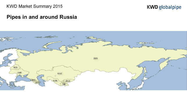 """KWD Market Summary """"Pipes in and around Russia 2015"""""""